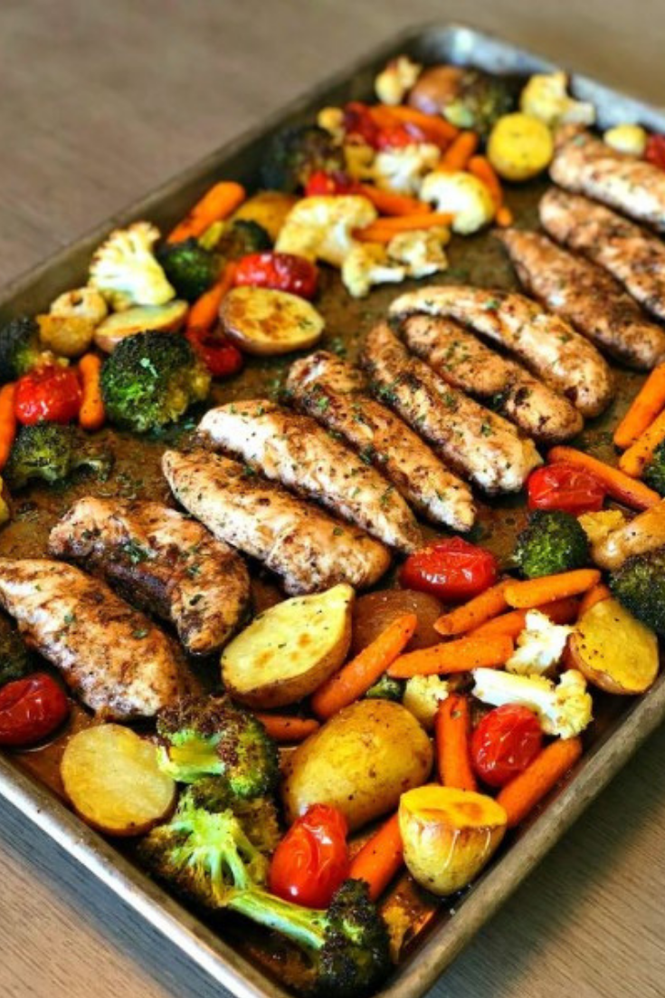 One Pan Balsamic Chicken Dinner Recipes