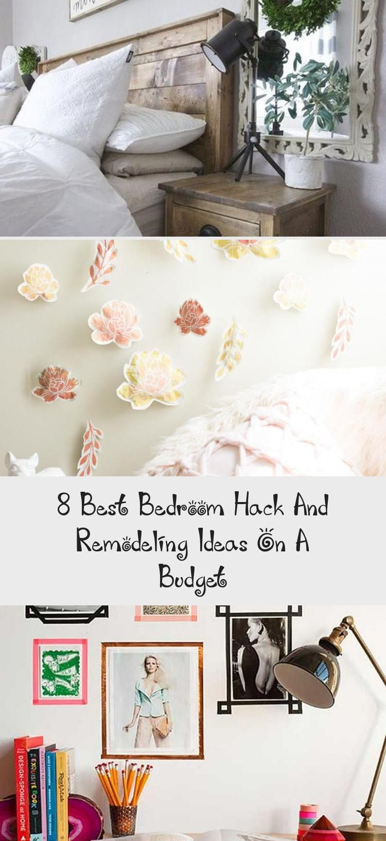 8 Best Bedroom Hack And Remodeling Ideas On A Budget – Decor