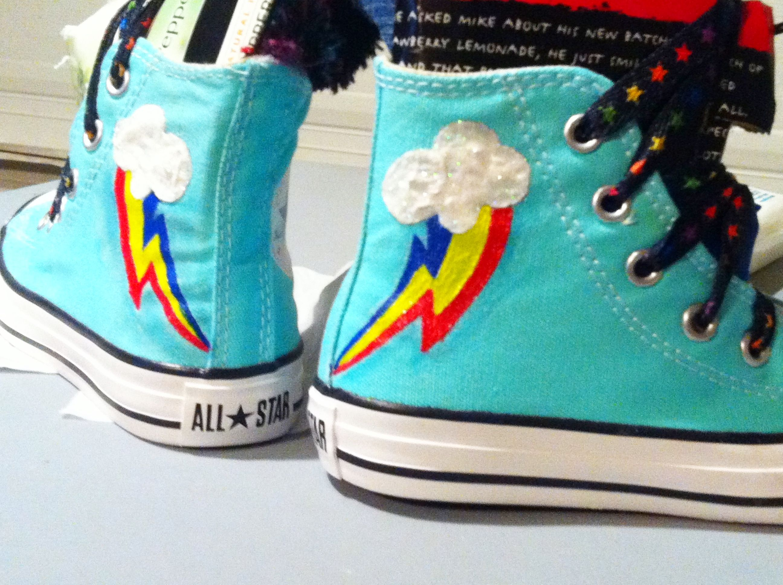 Rainbow Dash Cutie Mark ALLSTARS. Almost finished with