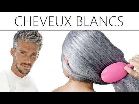 Coloration bio des cheveux blancs