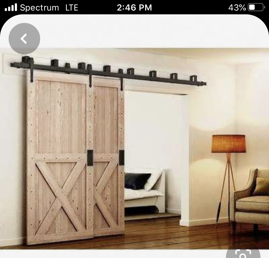 Pin By Janet Reynolds On Ideas In 2020 Bypass Barn Door Hardware Bypass Barn Door Barn Door Hardware