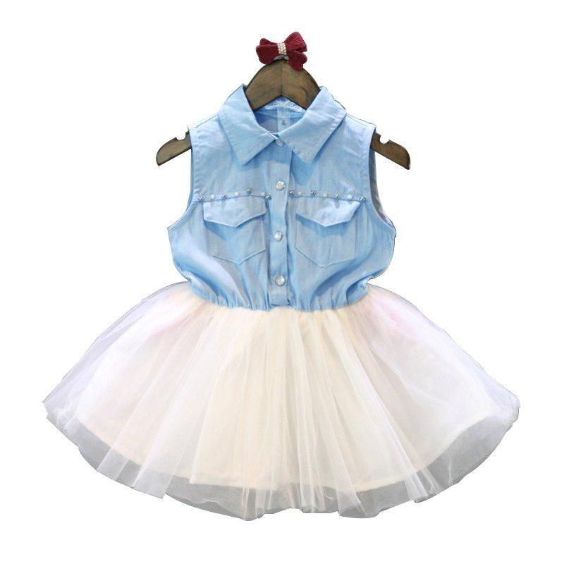 31899ed22e New summer Pink Children Dresses For Girls Kids Formal Wear Princess ...
