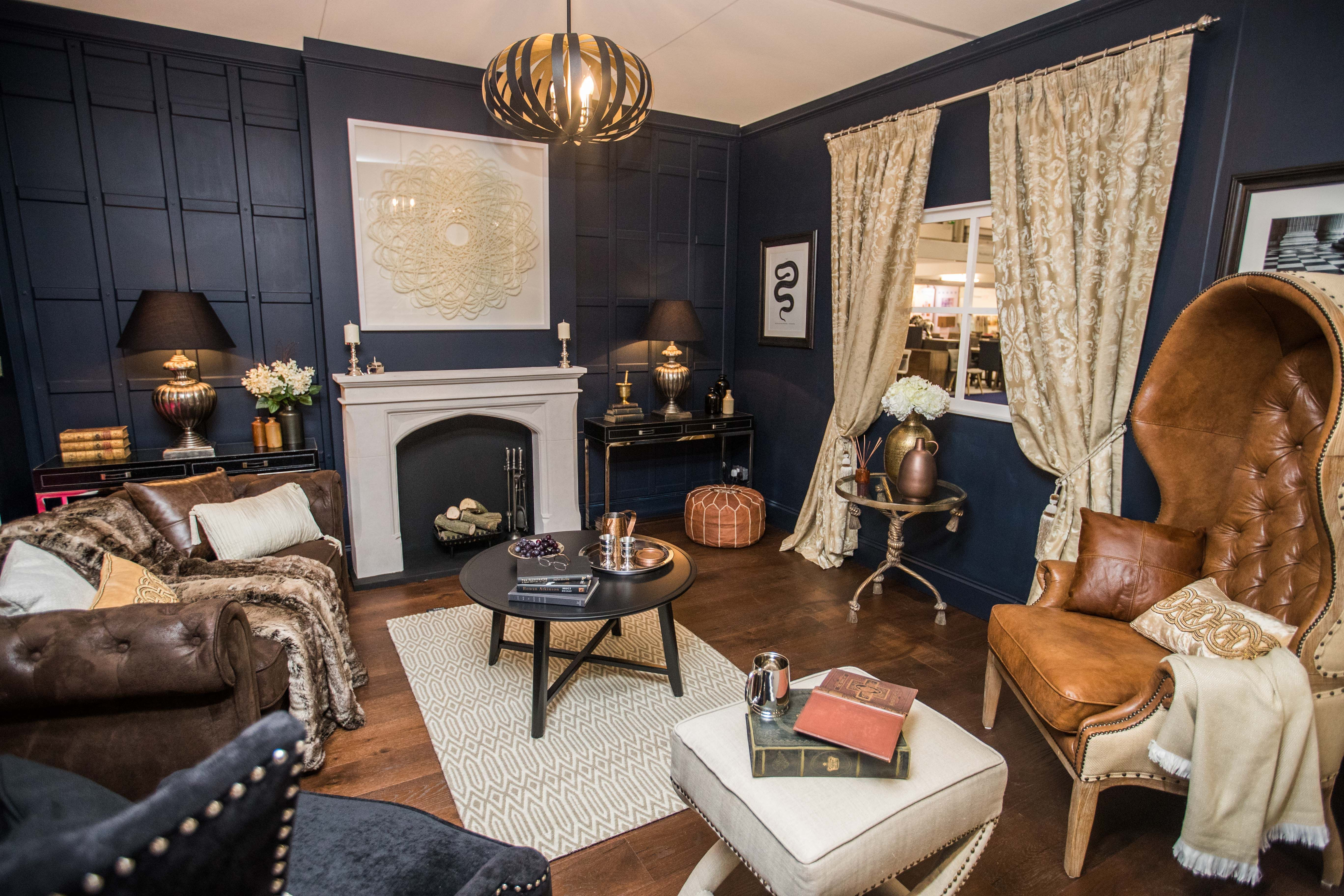 Interior Room Set Inspired By The TV Show Blackadder Which Was Part Of Grand