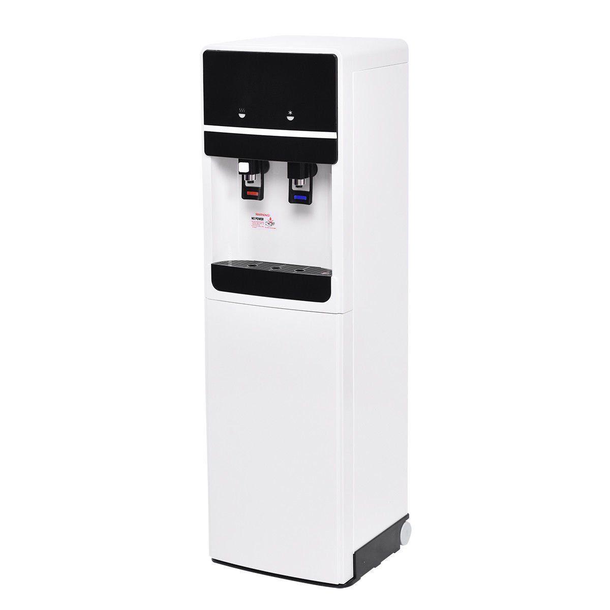 Costway Bottom Loading Water Cooler Dispenser Underlying Stainless ...