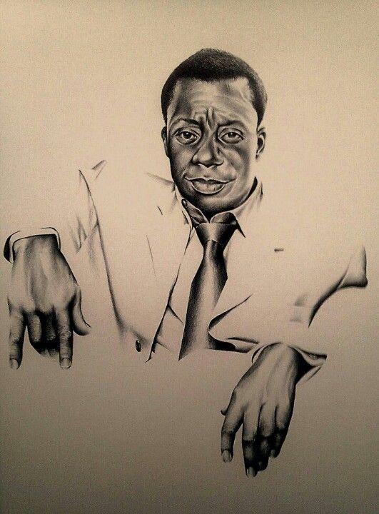 Jame Baldwin by Al Burts ballpoint