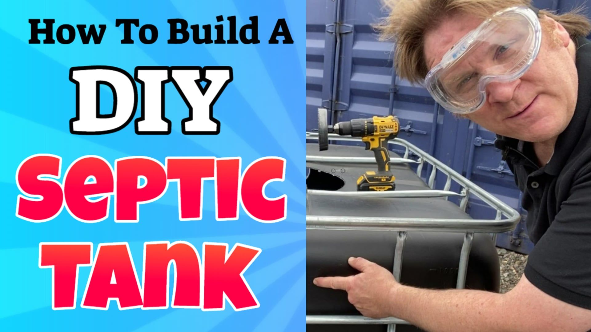 how to build a diy septic system Septic Tanks UK