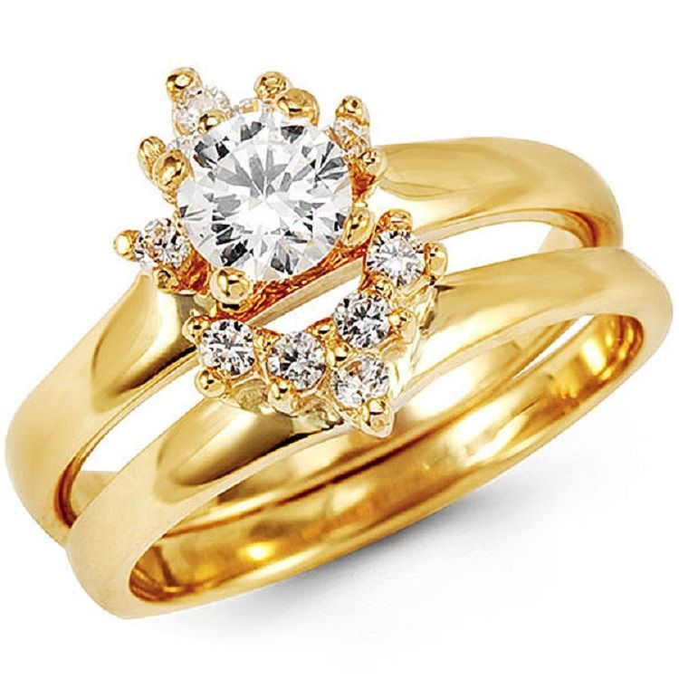 Asian Gold Wedding Ring Sets Rings In 2018 Pinterest Gold