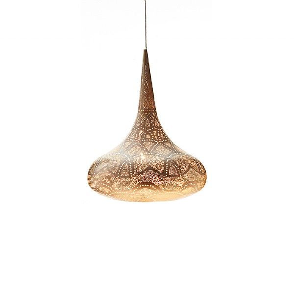 Adeela moroccan style brass ceiling lamp
