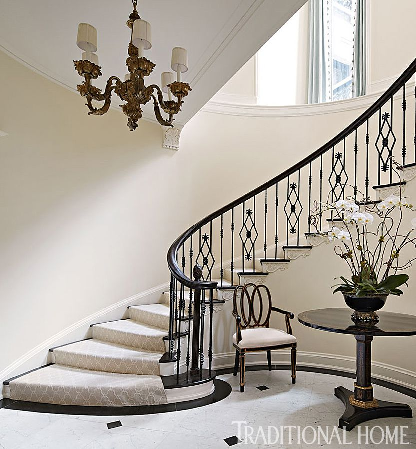 Best Stunning Chicago Home In Quiet Colors Staircase Design 400 x 300