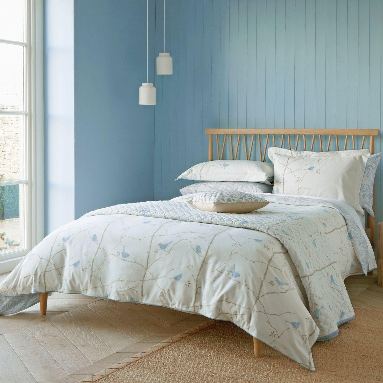 Sanderson Light blue 'Dawn Chorus' bed linen at Debenhams