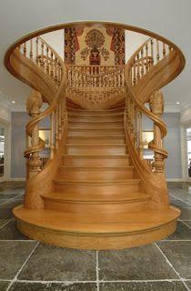 holz treppe design atmos studio, house designs school: jop van driel sculptured staircases   storage, Design ideen
