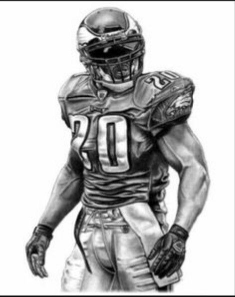 Brian Dawkins 20 Football Philadelphia Eagles