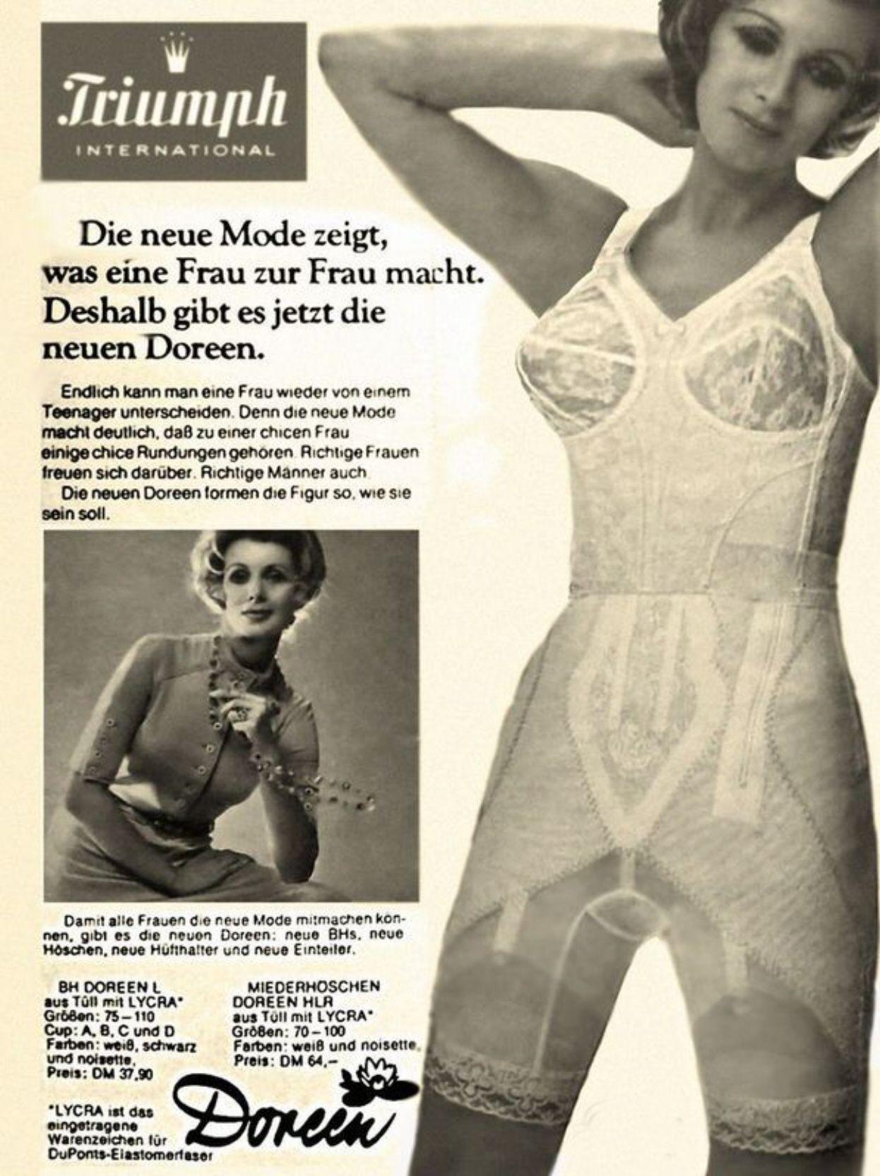 Triumph Doreen Long Leg Panty Girdle With Zipper And Longline