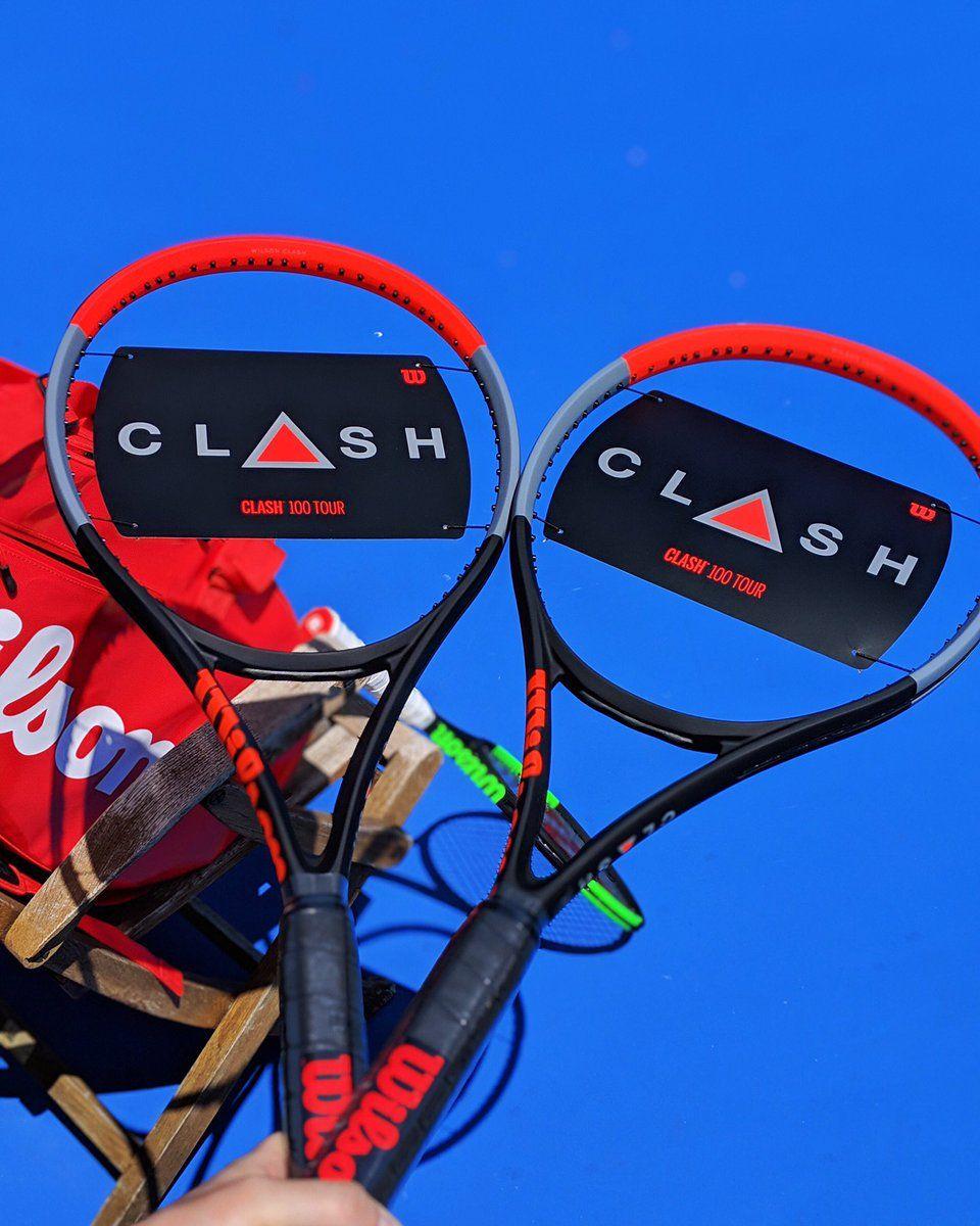 BRAND New Wilson CLASH 100 TOUR Tennis Racquet 4 1//4  L2 Racket 16x19  2019