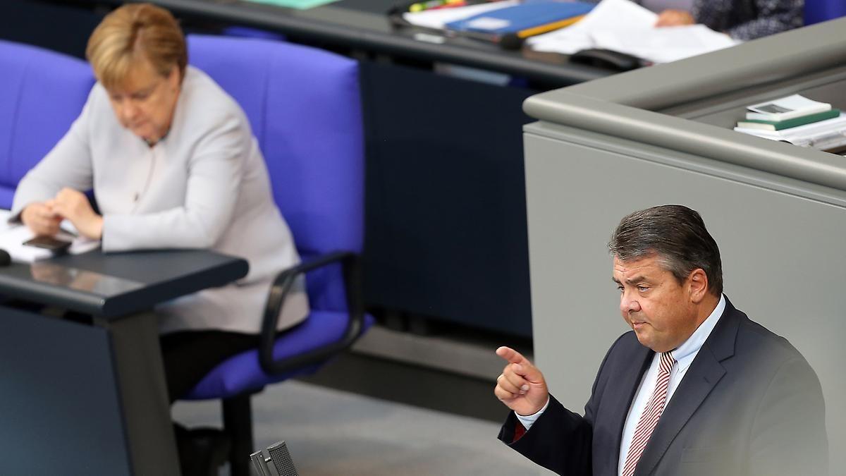 """""""Populisten nicht das Wort geredet"""": Gabriel wehrt sich gegen Merkel-Kritik"""