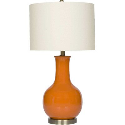 """Found it at Wayfair Supply - Gourd 29.5"""" H Table Lamp with Drum Shade"""