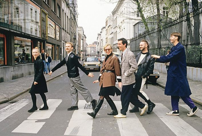 The Antwerp Six : Ann Demeulemeester, Dirk Van Saene, Marina Yee, Dries Van Noten, Walter Van Beirendonck and Dirk Bikkembergs