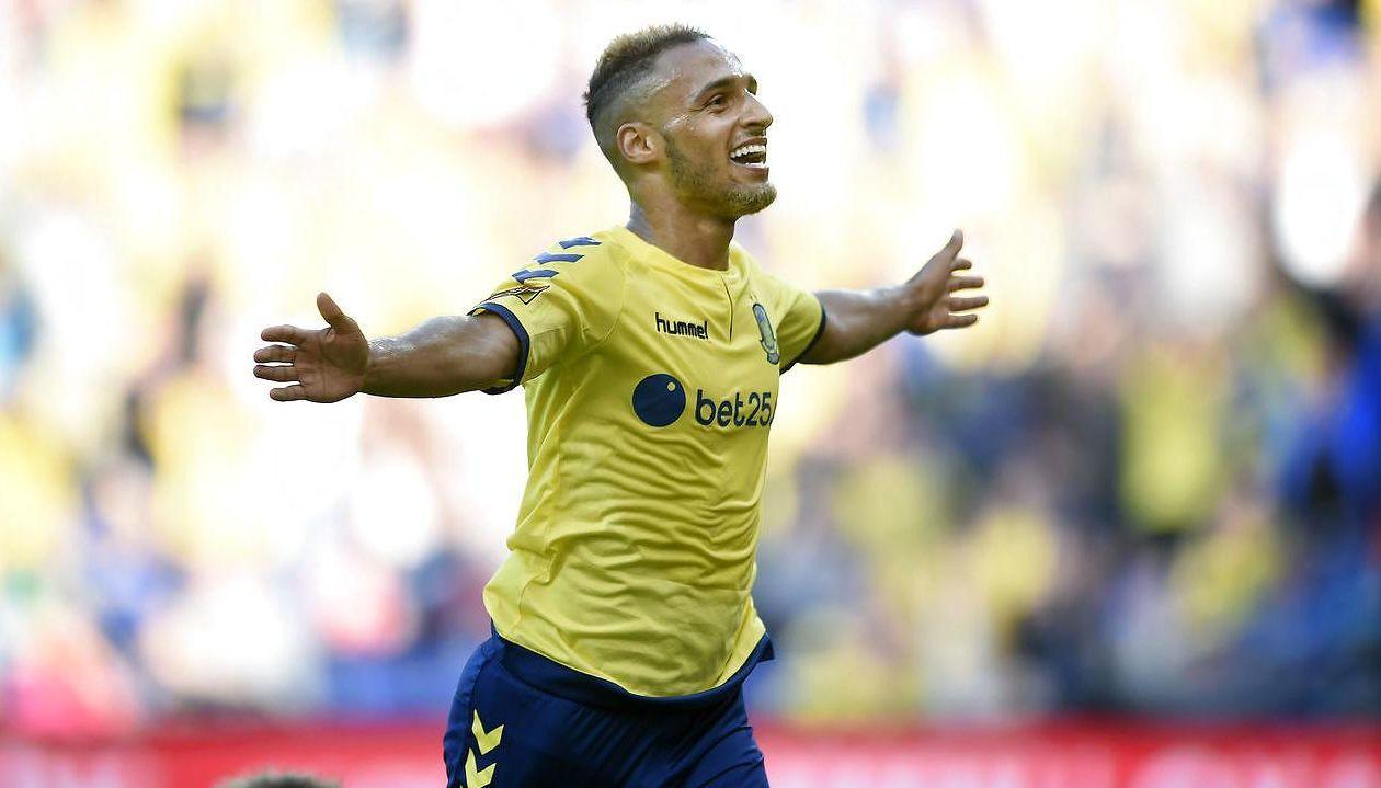 Brøndbys tilbagevendte Hany Mukhtar var beskeden efter sit flotte comeback mod OB:«Holdet spillede godt, og det var vigtigt med de tre point.«