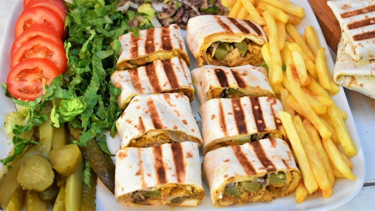 شاورما عربي بالمنزل وبطعم المحلات وصفة شهيه وطعم اكتر من رائع Best Fruit Salad Cooking Recipes Cooking