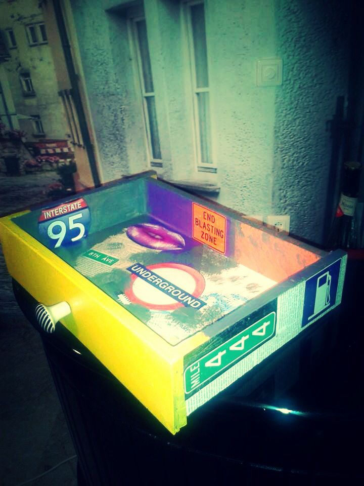 Pop art drawer makeover by Piccolaketi