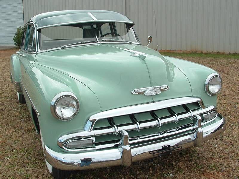 1952 Chevrolet Bel Air 4 Door Deluxe Image 1 Of 21 Chevrolet Chevrolet Bel Air Bel Air