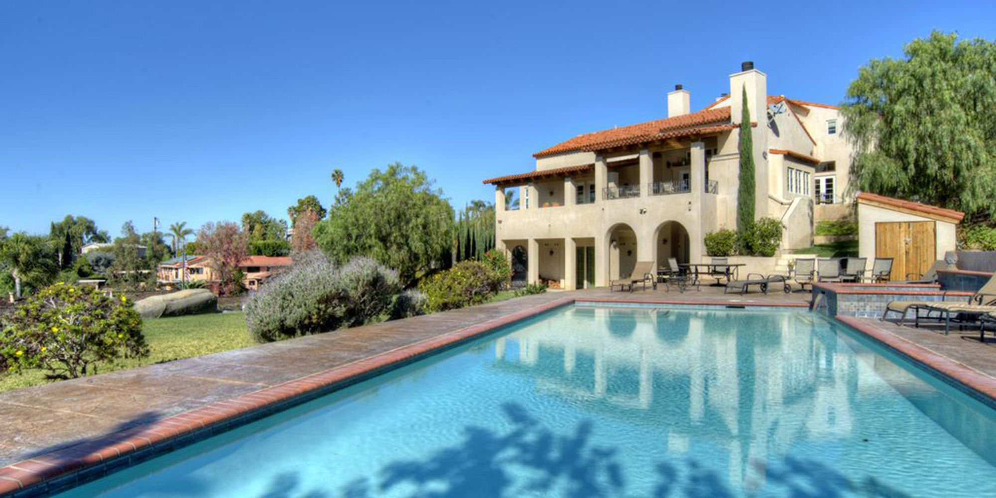 private indoor pool vacation home rentals near me