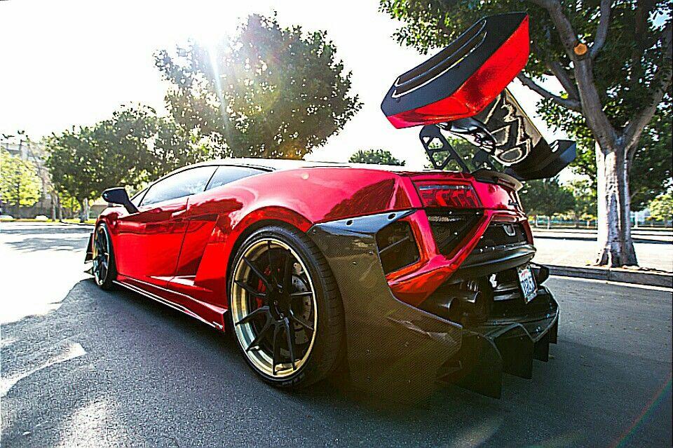 Gallardo with GT3 Body Kit