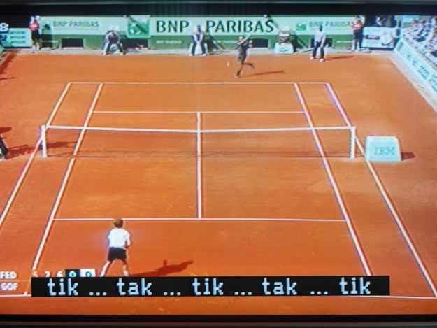 This Thrilling Tennis Commentary Funny Subtitles Close Caption Movie Subtitles