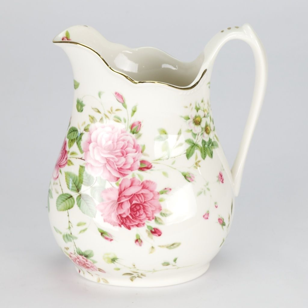 RP: Vintage Royal Albert Style Porcelain Pitcher Flower
