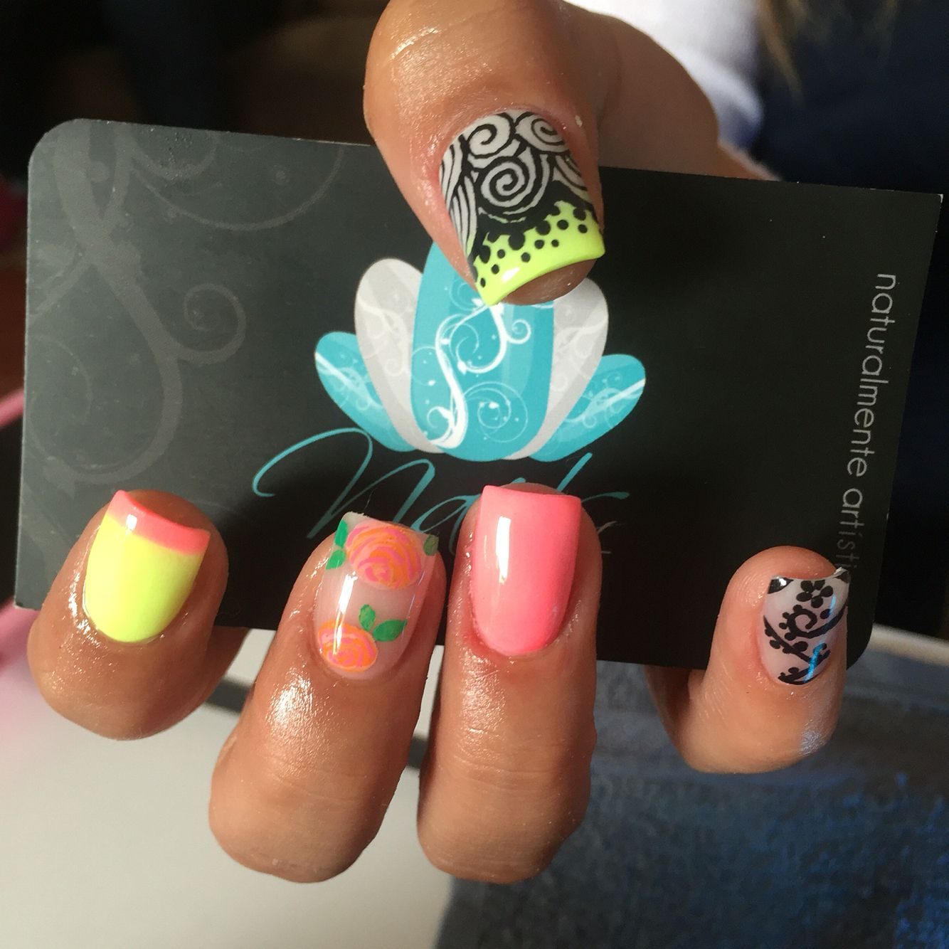 Acrylic nails nails art color nails nails pinterest color