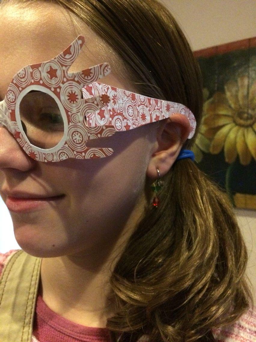Luna Lovegood Printable Glasses And Diy Radish Earrings Diy Radish Earrings Beauty Luna Lovegood