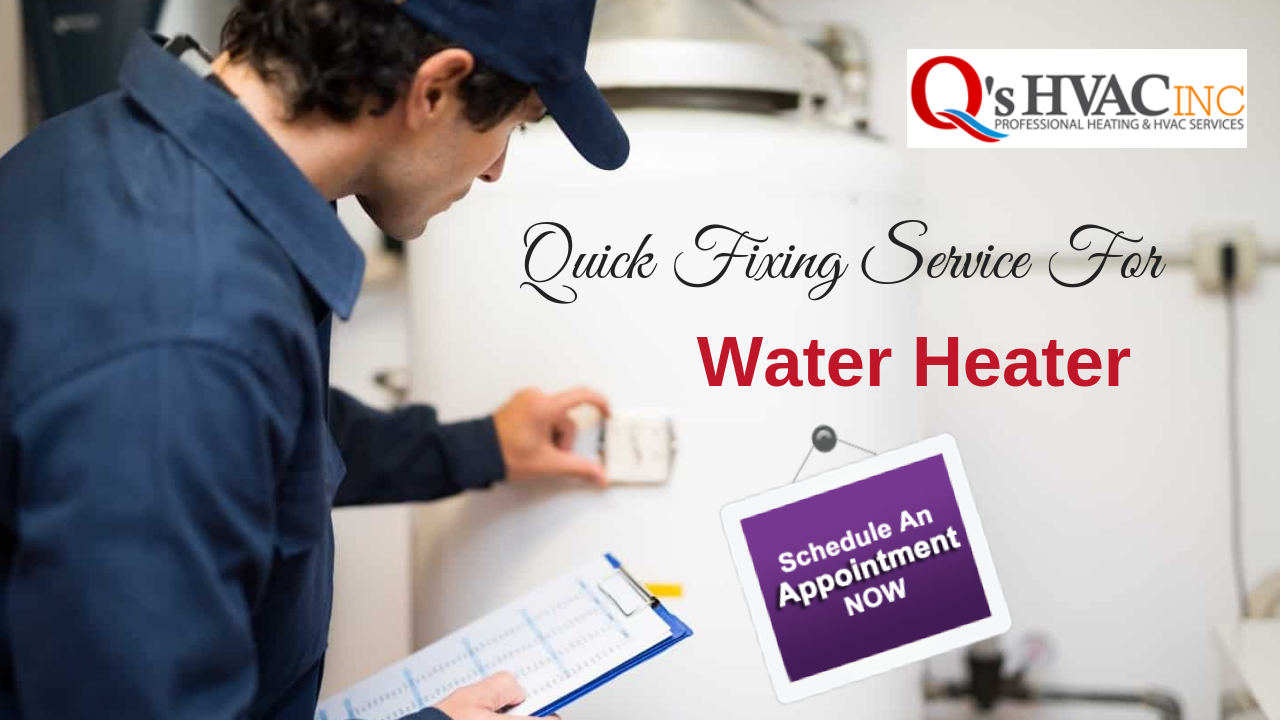 If You Ve Been Searching For Professional And High Quality Water Heater Installation And Repair Services Look No Further Than Q S Hv Air Conditioner Maintenance