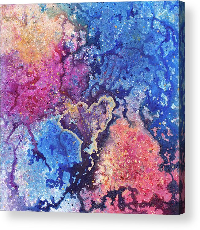 Emergence Acrylic Print By Jana Parkes All Acrylic Prints Are Professionally Printed Packaged And Shipped Within 3 4 Busin Painting Acrylic Prints Artwork