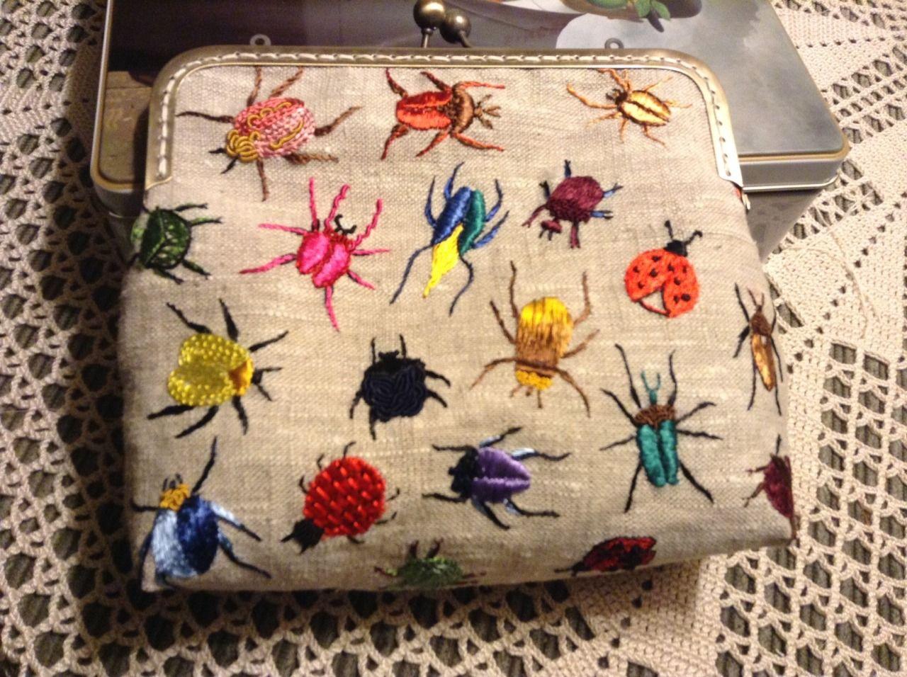 yumiko-higuchi   embroidery   Pinterest   Stickerei, Taschen ...