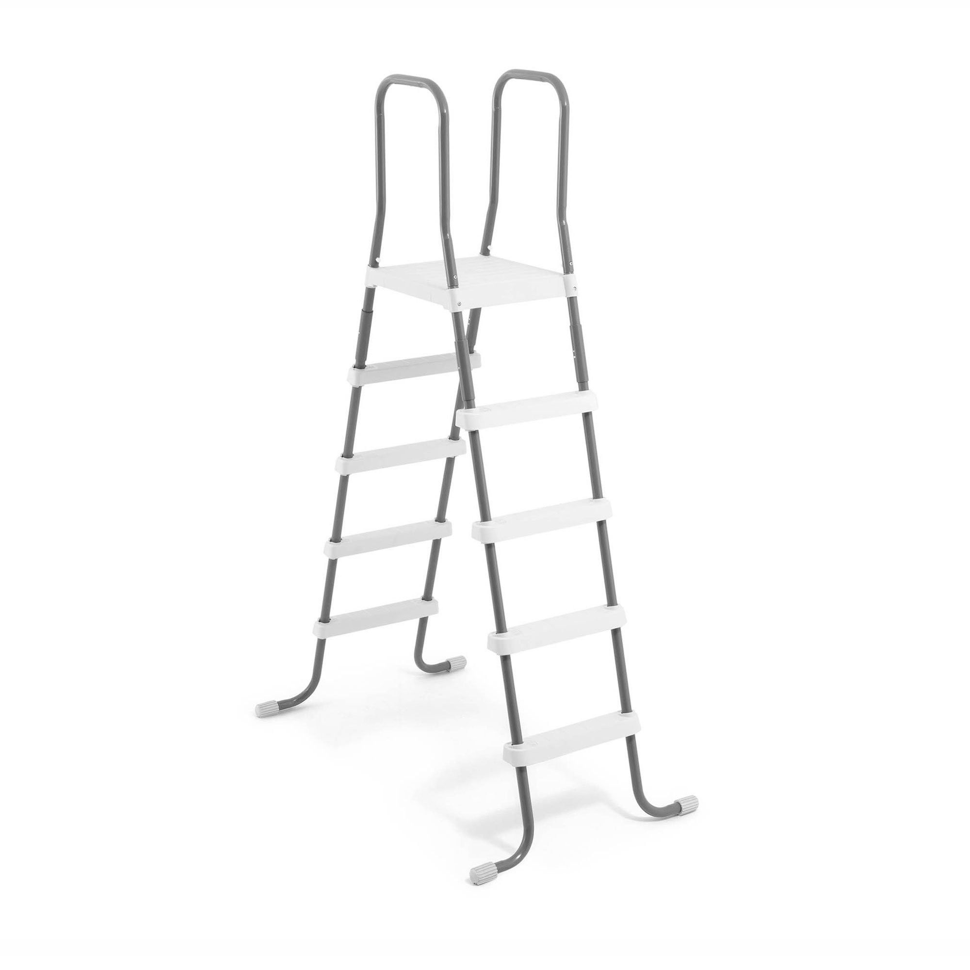 Intex Steel Frame Above Ground Swimming Pool Ladder For 58 ...