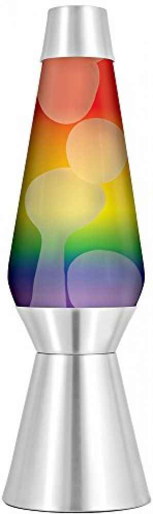 Extra Large Rainbow Lava Lamp 27 Silver Base Kids Bedroom Decor Novelty Lava Lamp Kids Bedroom Decor Lamp