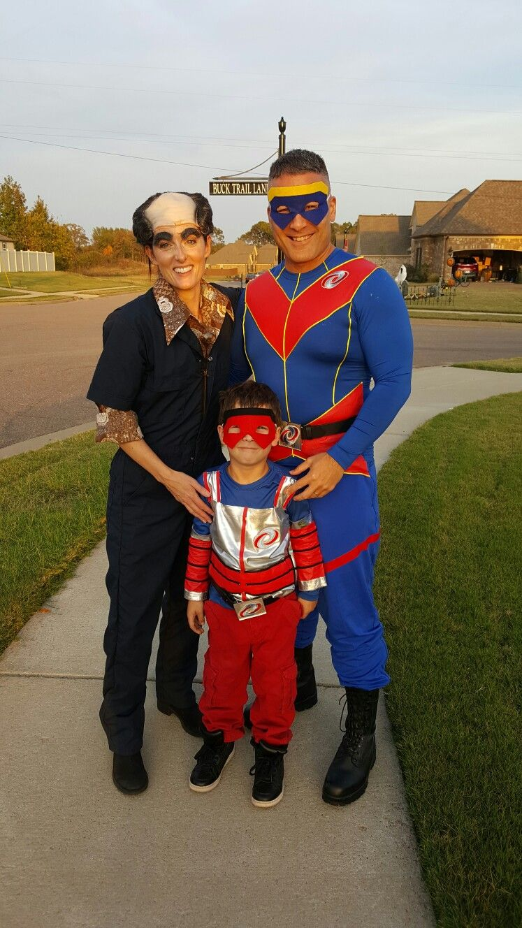 Henry Danger Costumes Captain Man Kid Danger And Schwoz