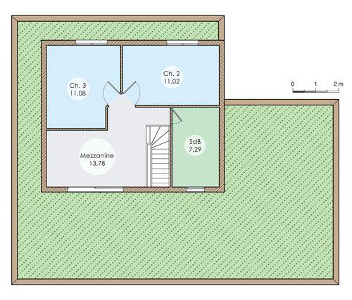 Une vaste maison écologique