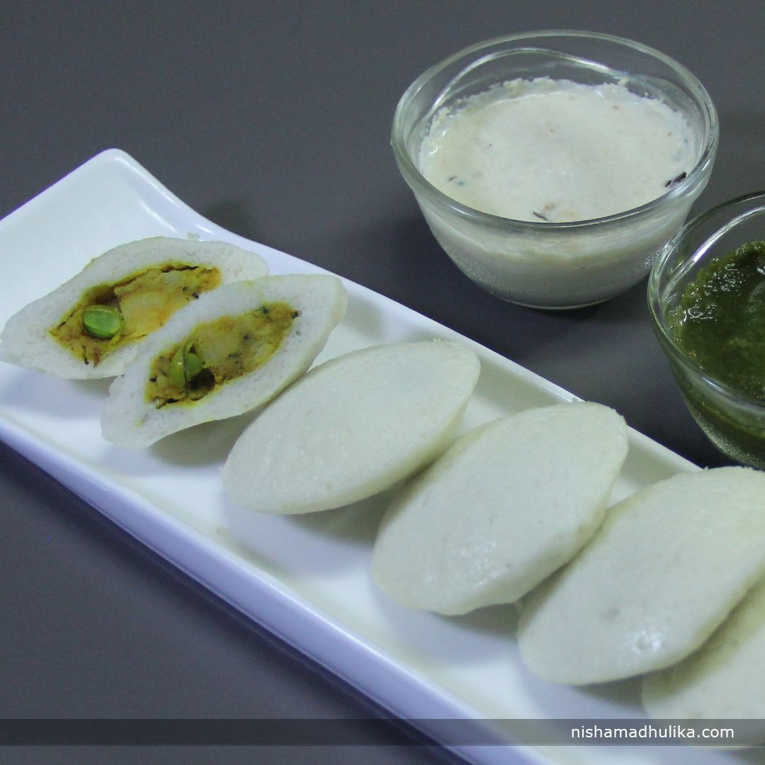 Aloo masala stuffed idli is a delicious and perfect snack recipe ...