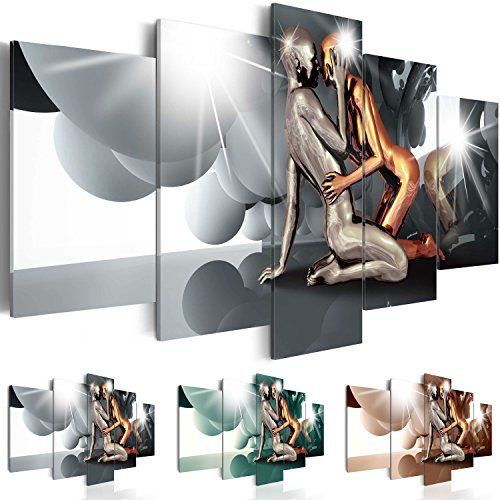 impression sur toile 200x100 cm 3 couleurs choisir 5. Black Bedroom Furniture Sets. Home Design Ideas