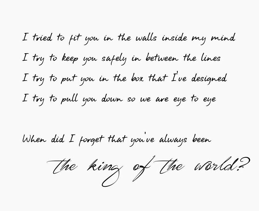 Natalie Grant - King of the World   emotion   Pinterest ...