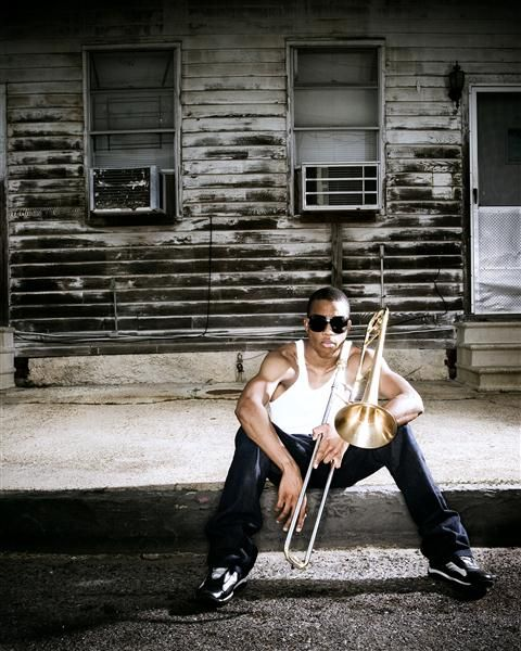 Trombone Shorty, New Orleans.