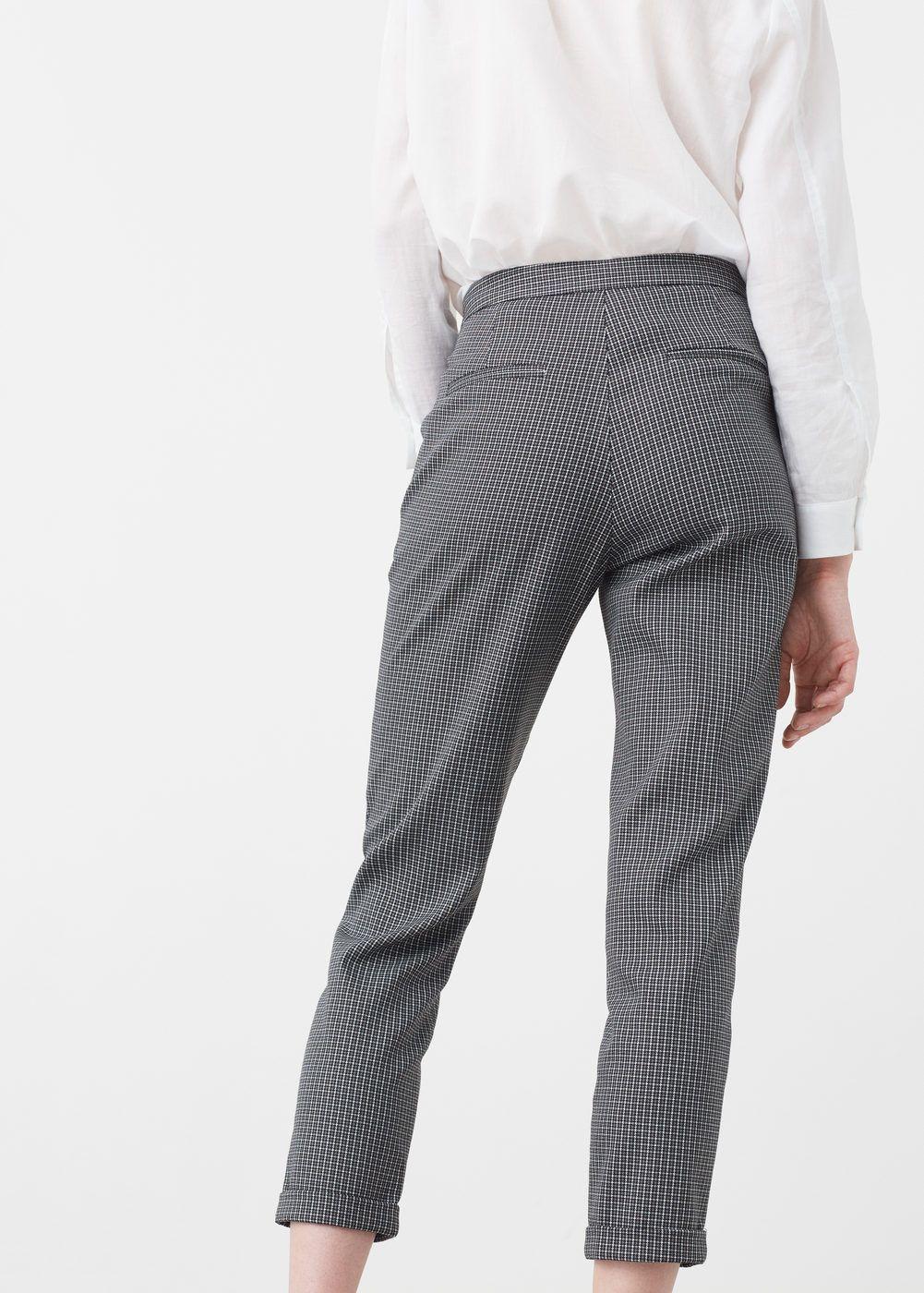 f55f503f34 Pantalón algodón estampado - Mujer. Pantalón algodón estampado