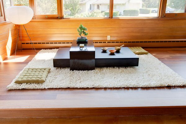 20 Japanese Home Decoration In The Living Room Home Design Lover Japanese Dining Table Japanese Living Room Decor Japanese Living Room Ideas Japanese style living room table