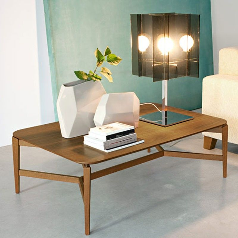 Symbol Coffee Table By Calligaris; Its Smooth Rounded Top Appears To Float  Above Its Architecturally