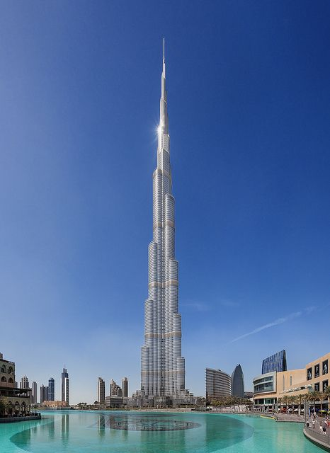 Burj Khalifa - Tallest building in the world by *Niceshoot* on Flickr.