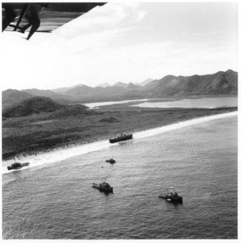 Praia de Camboinhas anos 50