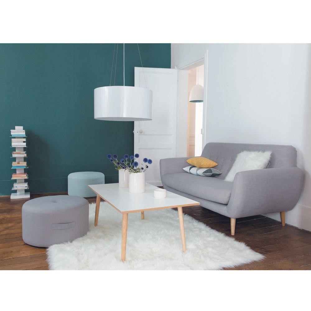 Sofá Escandinavo De 2/3 Plazas Gris. Salon Style ScandinaveDeco ...