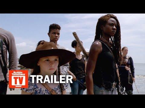 Comic Con Trailers The Witcher 21 Bridges Watchmen Snowpiercer And More The Walking Dead Walking Dead Tv Series Comic Con