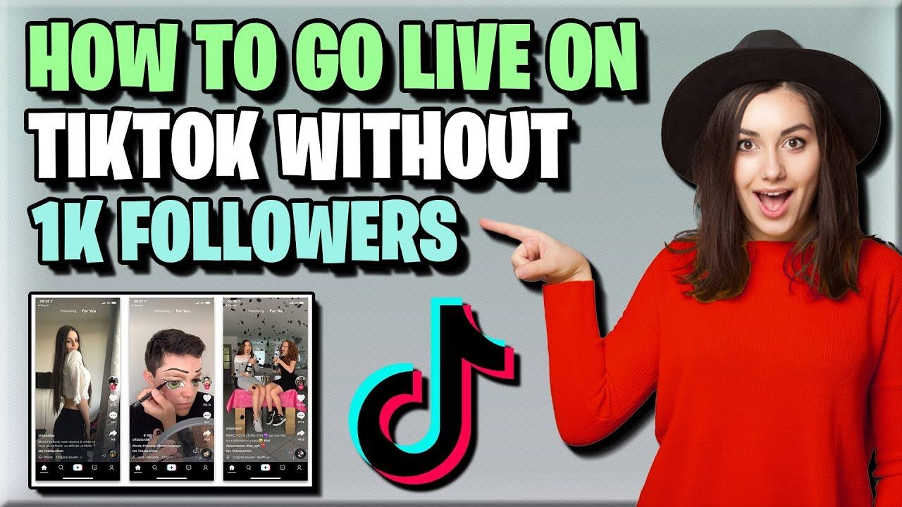 How to go live on tiktok 2020 without 1k followers